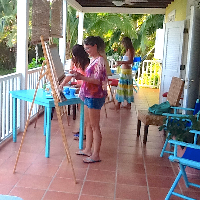 Random-Art-Painting-and-Cooking-Lessons-Bocas-del-Toro-Panama-1