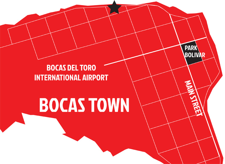 map-bocas-surf-school-bocas-town--CASABLANCA