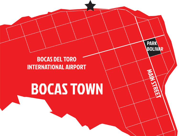 map-bocas-surf-school-bocas-town--HOSTEL-TULULAS