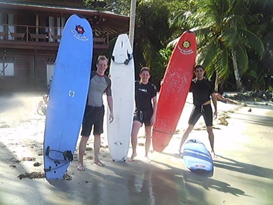 March 2014 Surf Lessons