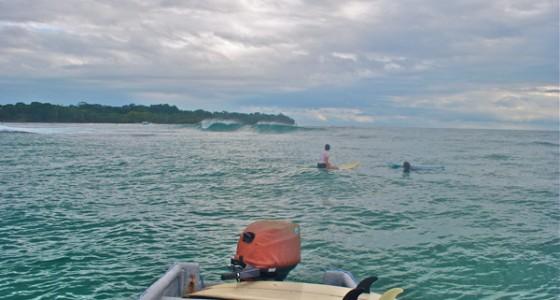 Surfing Bocas del Toro July 2014