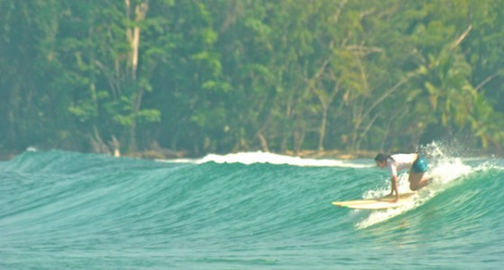 Surfing Bocas del Toro July 2014