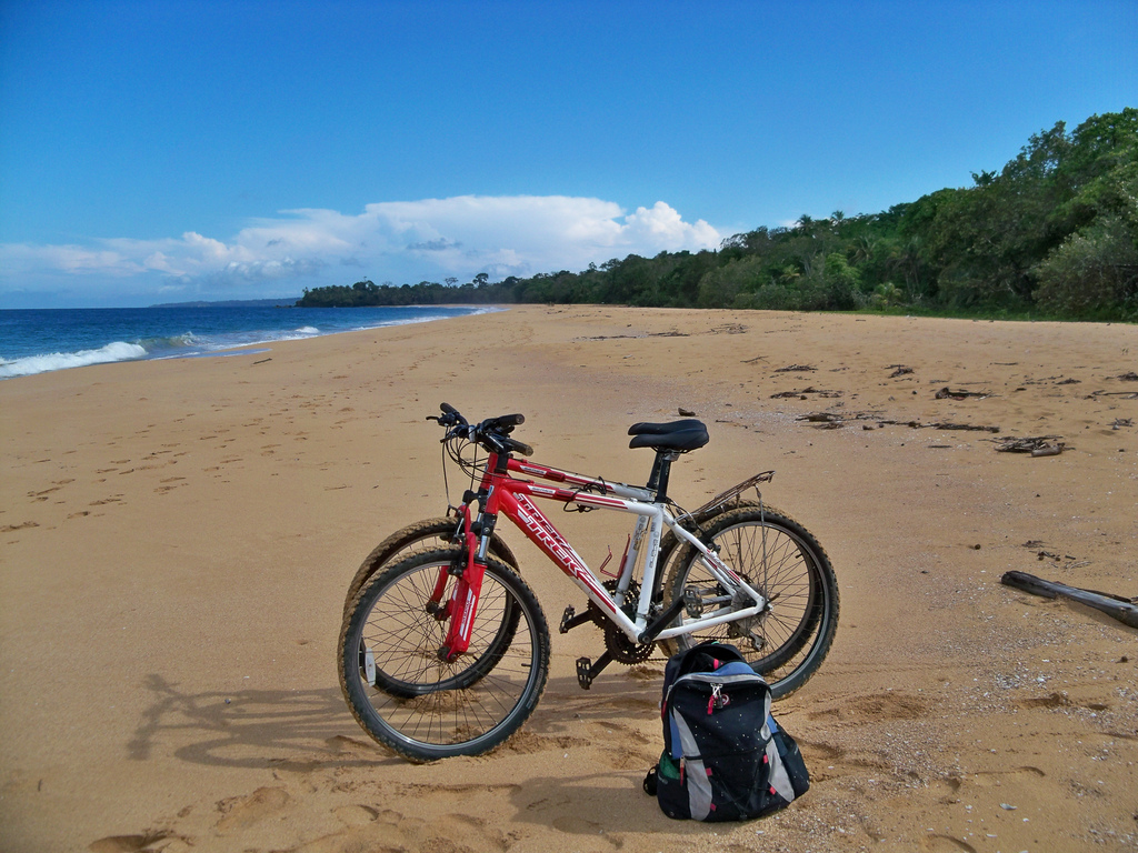 Bluff beach bike trips!